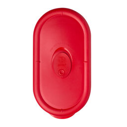 Pro 2 Cup Oblong Plastic Lid, Red