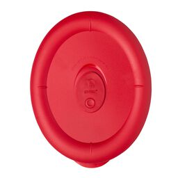 Pro 3.67 Cup Oval Plastic Lid, Red