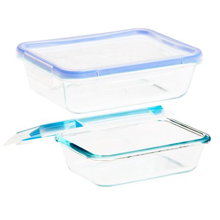 Total Solution™ Pyrex® Glass Food Storage 4-pc Set