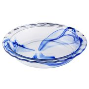 "Watercolor Collection™ Blue Lagoon 9.5"" Pie Plate"