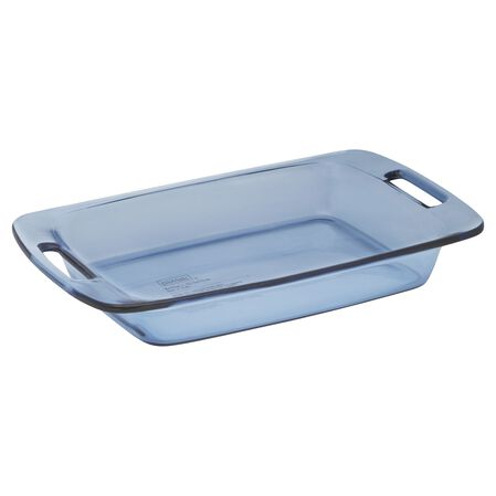 Easy Grab® 3-qt Oblong Baking Dish, Atlantic Blue
