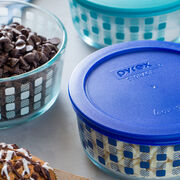 Simply Store® 4 Cup Turquoise Squared Storage Dish w/ Lid