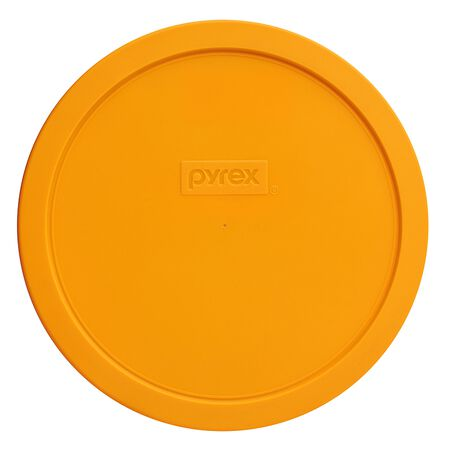 1.5-qt Round Plastic Lid, Lemon Yellow