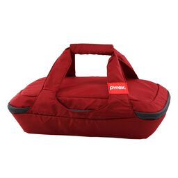Portables® 3-qt Oblong Bag, Red