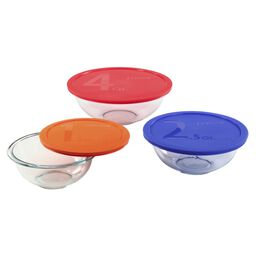 Smart Essentials® 6-pc Mixing Bowl Set