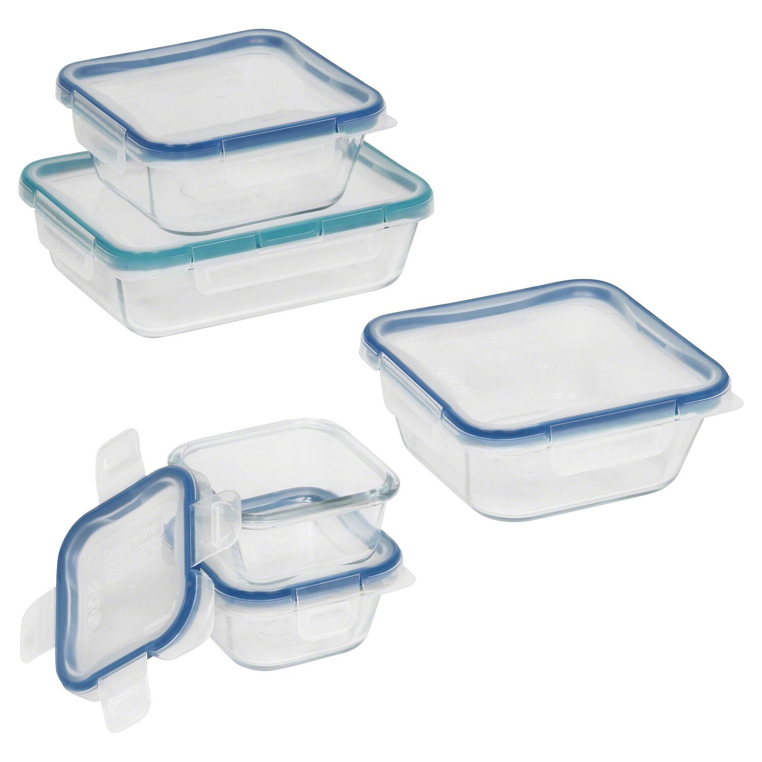 Snapware 174 Total Solution Pyrex 174 Glass Food Storage 10 Pc