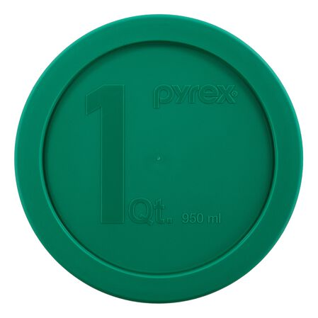 1-qt Round Mixing Bowl Plastic Cover, Green