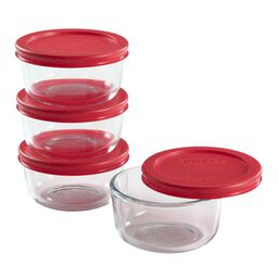 Simply Store® 8-pc Value Pack w/ Red Lids