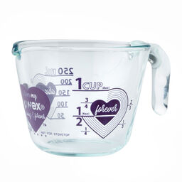 Love 1 Cup Purple Measuring Cup