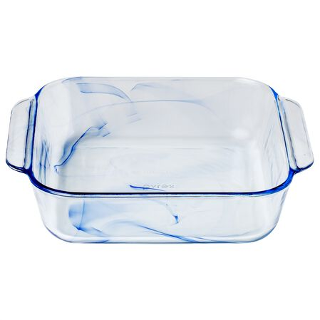 "Watercolor Collection™ Blue Lagoon 8"" Square Baking Dish"