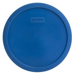 Plastic Lid 10-cup Round, Lake Blue